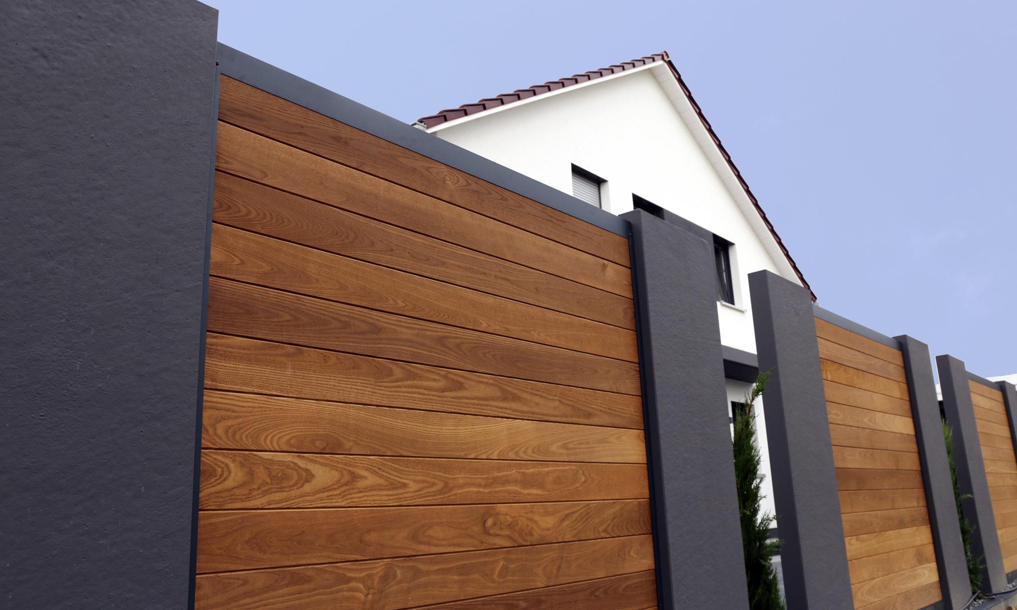 poteaux clôture