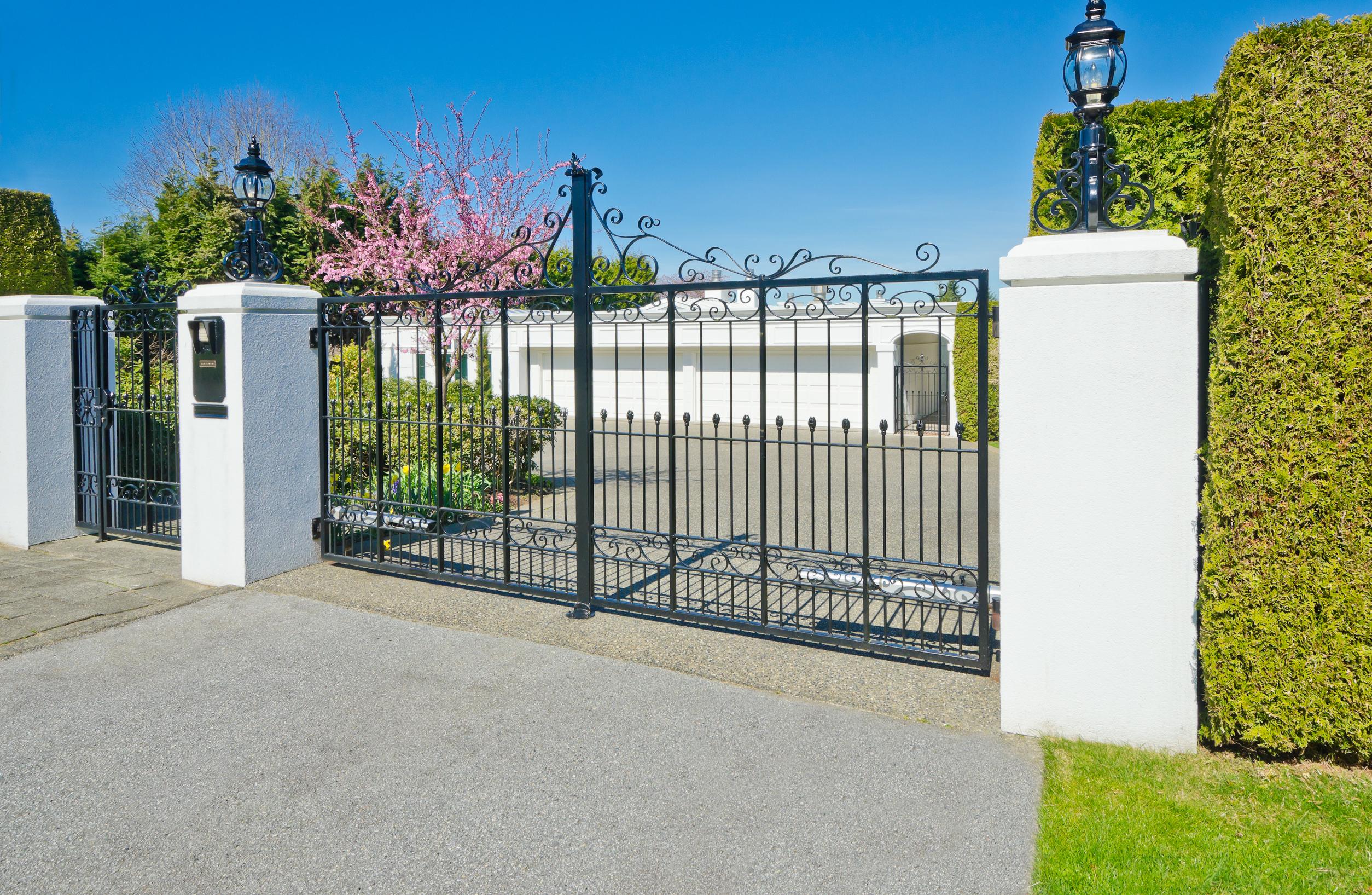 poteaux portail