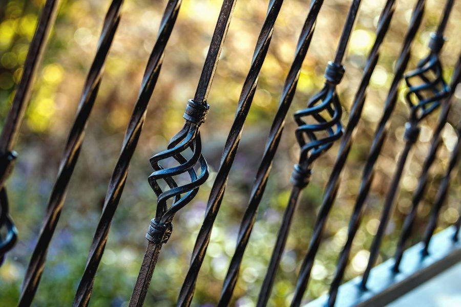 clôture ferronnerie