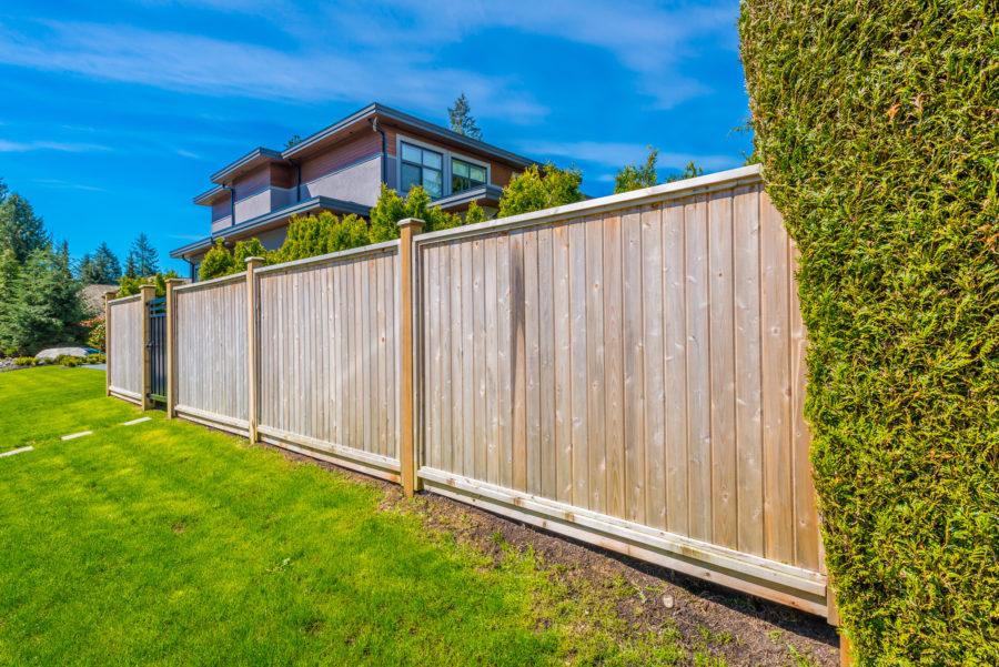 entretien types clôtures