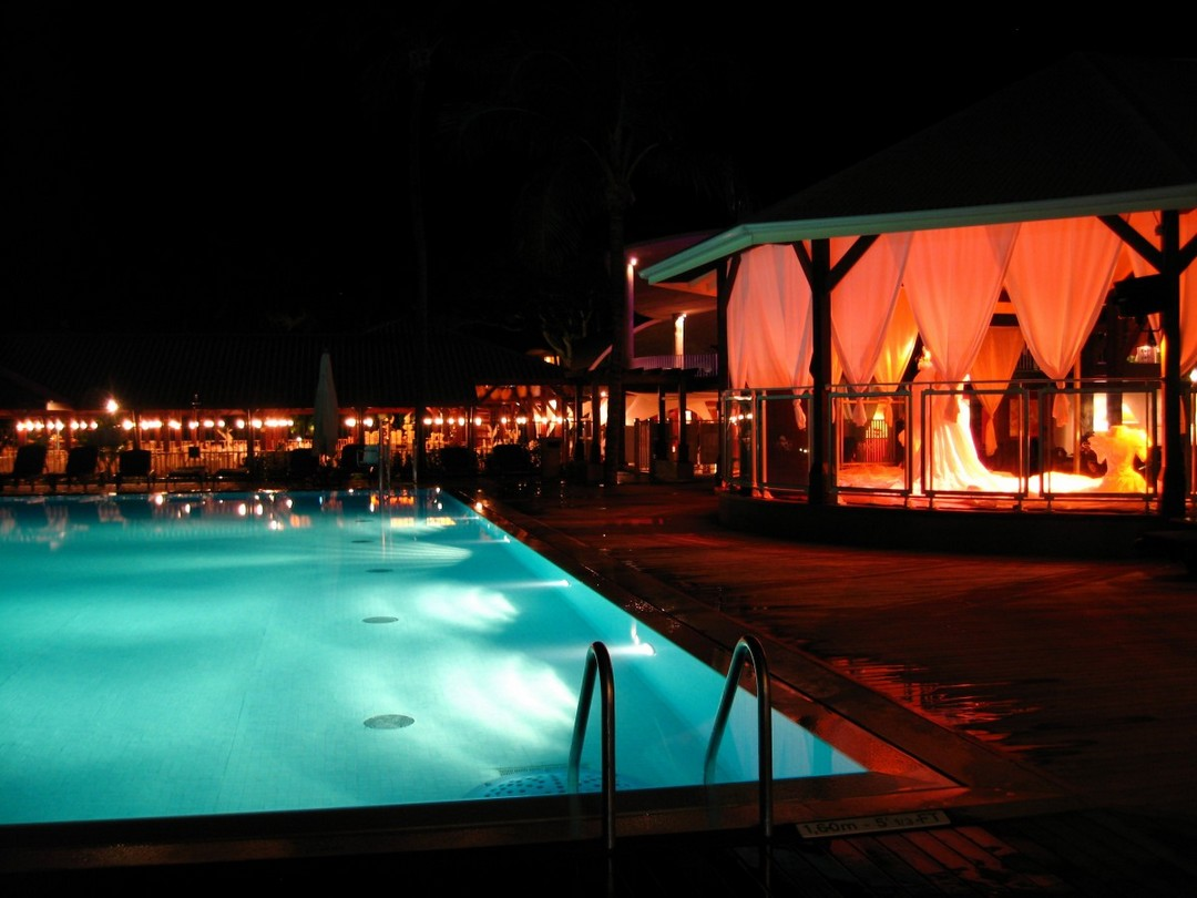 illuminer piscine